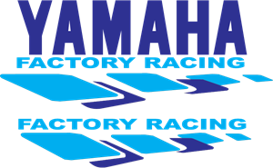 Yamaha Factory Racing Logo Vector