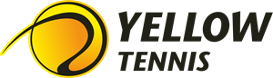 Yellow Tennis Logo Vector