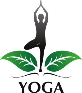 Yoga Woman Logo Vector