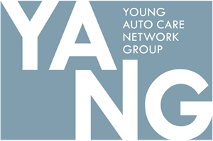 Young Auto Care Network Group Logo Vector