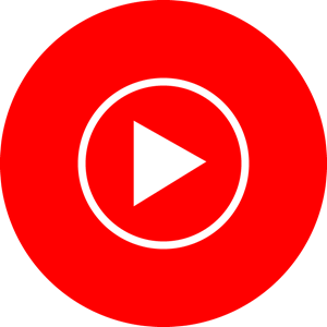 Youtube music Logo Vector