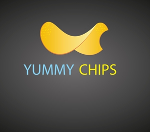 YUMMY CHIPS CUSTOM Logo Vector