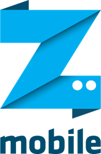 Z Mobile Logo Vector
