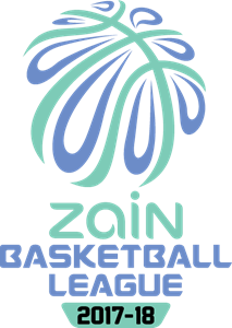 Zain Basketball League Logo Vector
