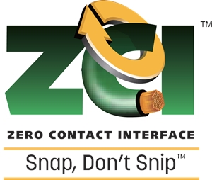 Zero Contact Interface (ZCI) Logo Vector