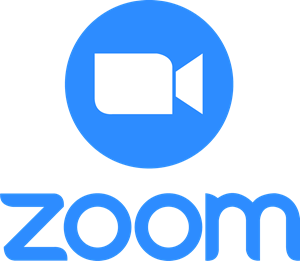 Zoom fondo blanco vertical Logo Vector